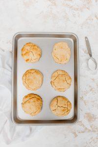 Gluten Free Dairy Free Honey Biscuits