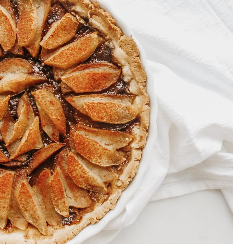 Apple Cinnamon Tart