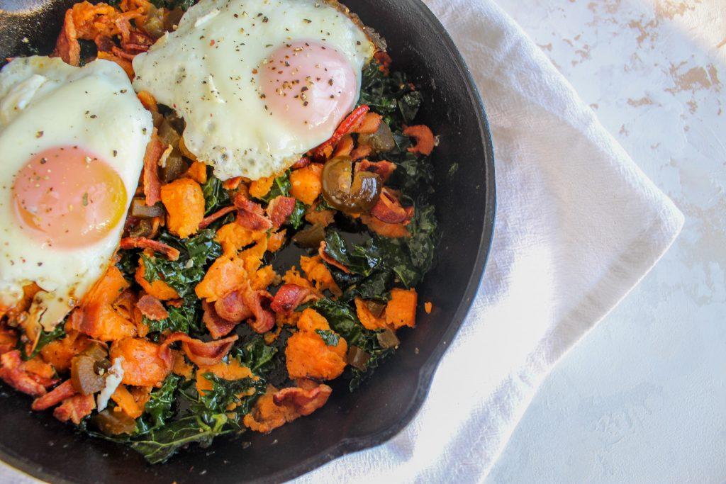 healthy gluten free breakfast skillet