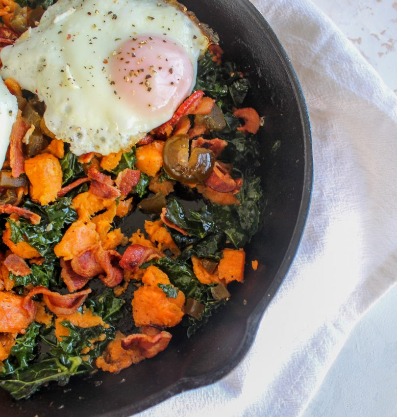healthy gluten free breakfast skillet