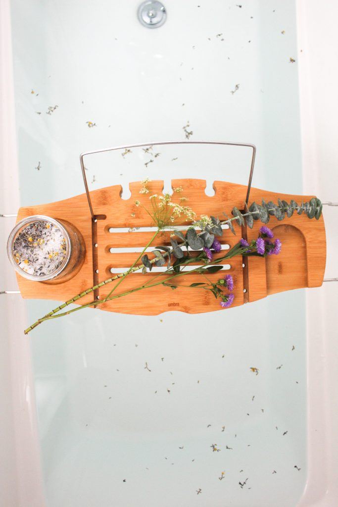 DIY Lavender & Chamomile Bath Salts