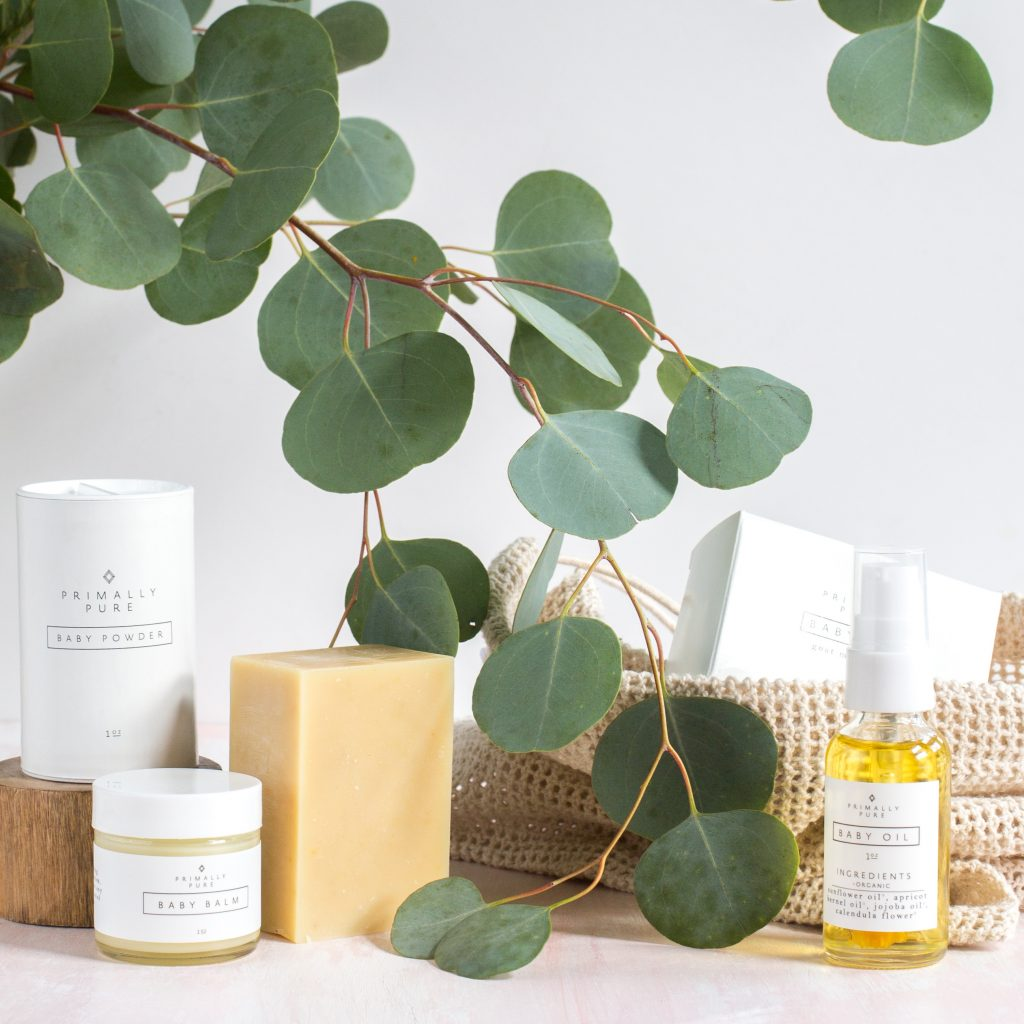 Clean beauty products by Primally Pure